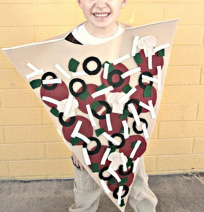 How about an appetizing Halloween costume for a change?