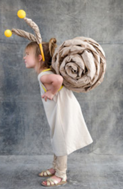 It's amazing what you can do with some rolled up brown paper