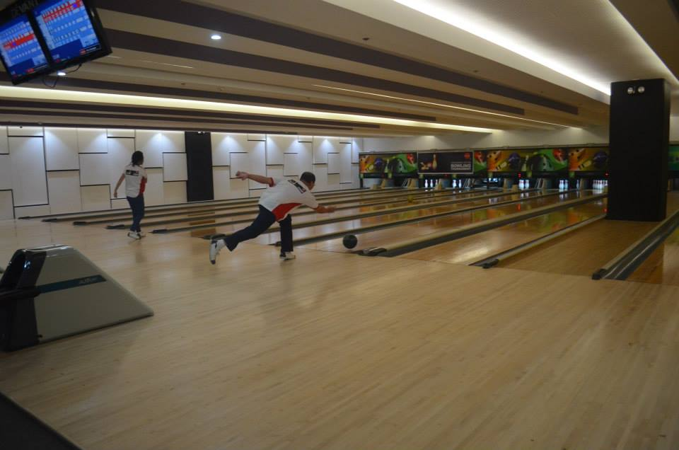 Play a game of bowling at the hippest bowling alley in town