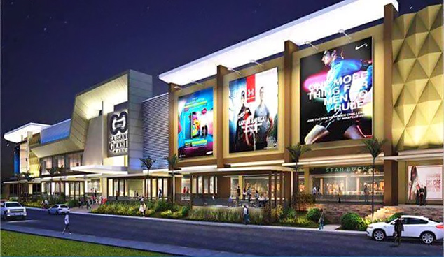 Gaisano Grand Mall Buhangin is just a short drive from Narra Park Residences. Photo from SkyScraperCity.com
